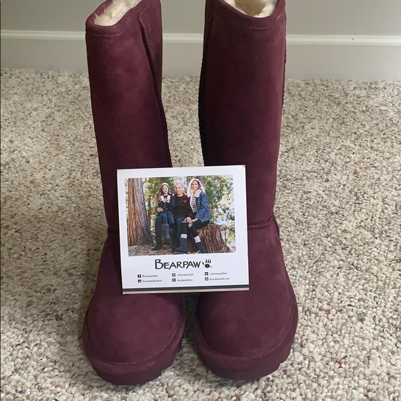 BearPaw Shoes | Boots Color Is Wine